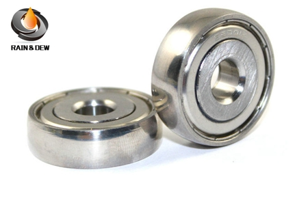 304 steel S6001 spherical ball bearing 8x28x8mm
