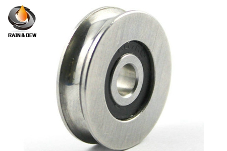 S625RS U groove ball bearing 5x22.5x6mm